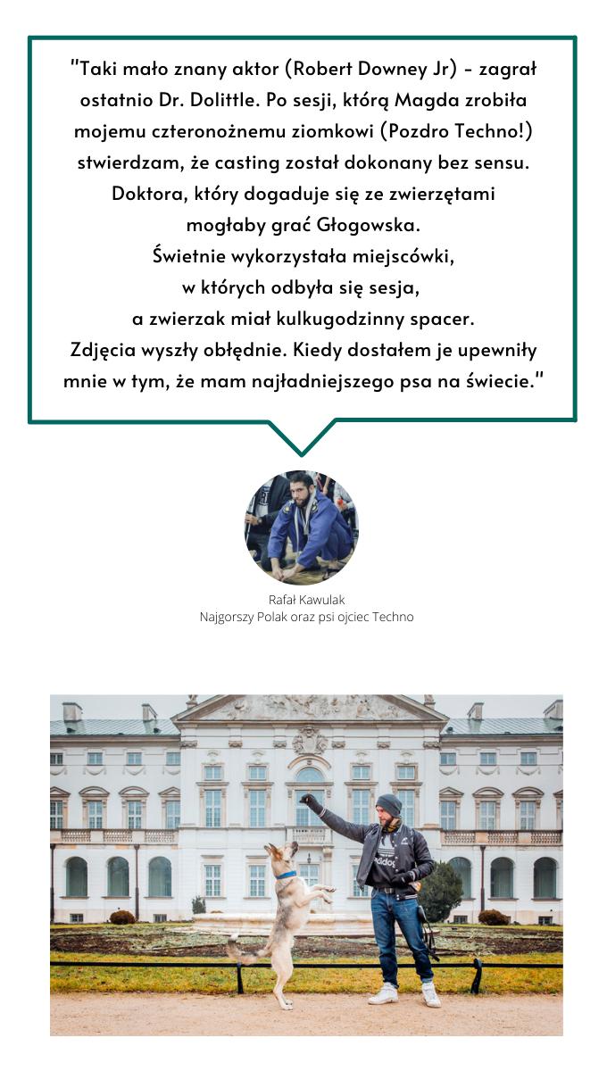 Psi fotograf Magda Głogowska- opinie