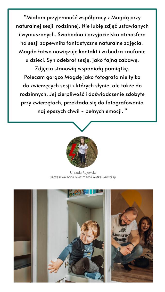 Fotograf rodzinny Warszawa. Magda Głogowska opinie